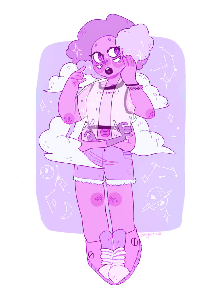 She's my fav off colour from the new SU eps!
