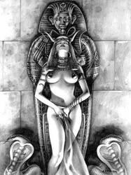 Egypt woman by arantzasestayo