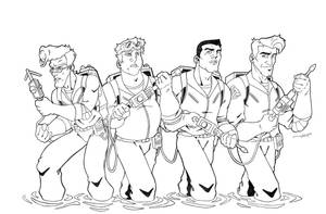 The Real Ghostbusters...... by JMAT