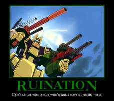 Ruination - Poster by Soundwave04