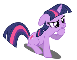Pondering Twilight Sparkle Vector (Redone) by Dipi11
