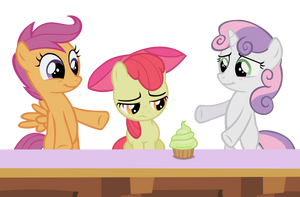 A cupcake oughta cheer you up by Dipi11