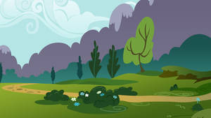 Ponyville, A Park Scene by Dipi11