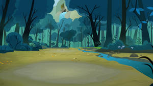 Campsite Background by Dipi11