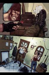Conan vs Deadpool page 4 by Aracubus