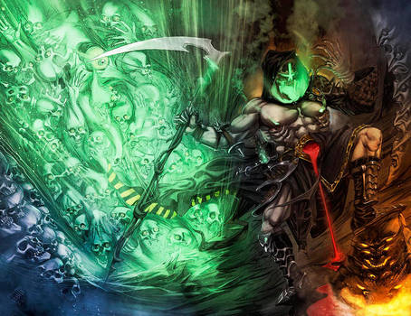 HADES in the Underworld. by Aracubus