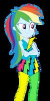 Rainbow Dash by MixiePie