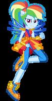 [Legend of Everfree] Rainbow Dash by MixiePie