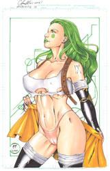 Aphrodite IX Copic by daikkenaurora