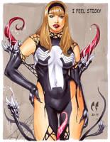 Gwen Stacy Venom by daikkenaurora