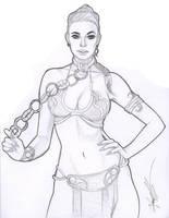 Slave Rey Sketch by daikkenaurora