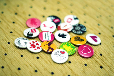 valentine's day pins by dblg