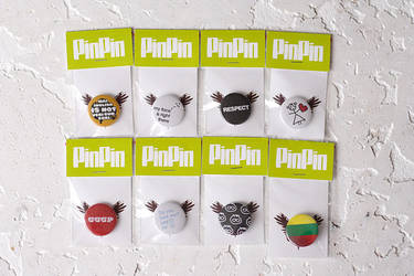 New Pins by dblg
