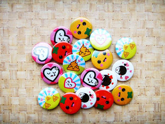 Valentine's day pins 3 by dblg