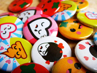 Pins Close up by dblg