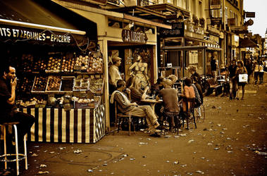 Autumn in Paris by Yousry-Aref