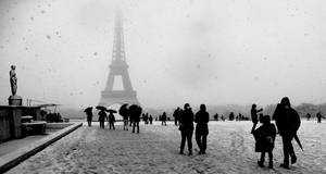 Cold Paris by Yousry-Aref