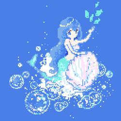 mermaid by wako1117