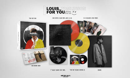 Louis Tomlinson -- For You Box Set (Fan Made) by xsneakernight