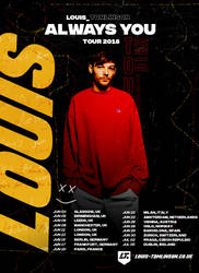 Louis Tomlinson Tour Poster v.01 by xsneakernight