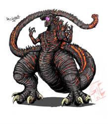 Shin'Godzilla ( NEO variant ) by Gabe-TKE