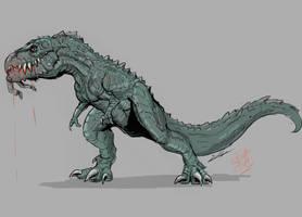 1977 T-Rex (man-eater) by Gabe-TKE