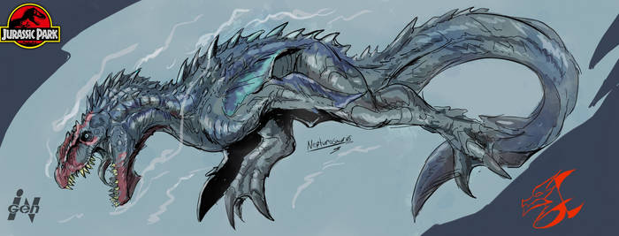 Commission: Neptunosaurus (sketch) by Gabe-TKE