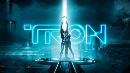 Tron Legacy - wallpaper 2 by RafaelAveiro