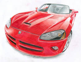Dodge viper by ilov2xlr8