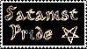 Satanist Pride Stamp by Rha-Zhul