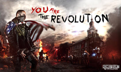 Homefront The Revolution Contest: RISE by LopezIIReturn