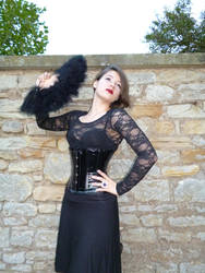 Lady in black 01 by SenoritaPepitaStock