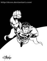 Superman Inks by DCON