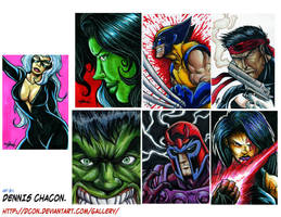 marvel cards by DCON