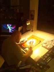 me in studio by DCON