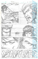 wolverine sample page 2 by DCON