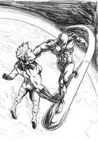 Rise of the Silver Surfer by DCON