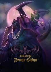 Poster Batman - Rise of the Demon Clown by tamaharian