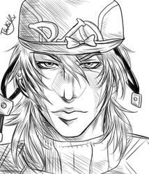 Diego's Sketch by TsukiYukari
