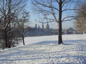 Winter in Dresden by codina