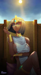 Neith - Egyptian mythology (Godness Series) by Aonoo