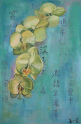 Orchid Poem by RebexTrip