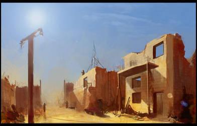 Gatehouse Concept by gizmodus