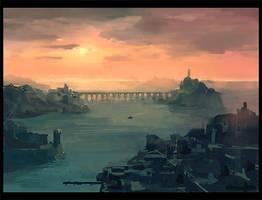 Malhem Port by gizmodus