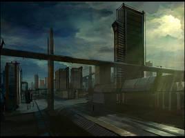 The Gamma Bridge by gizmodus