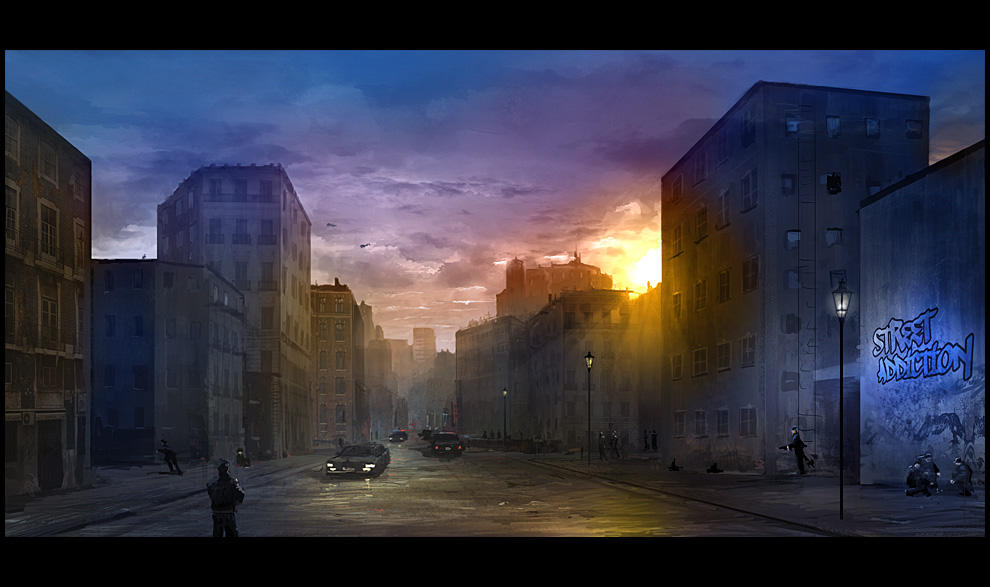 Street Addiction by gizmodus