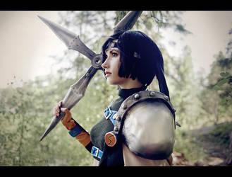 Young ninja - Yuffie cosplay by Narga-Lifestream