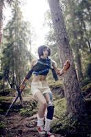 Yuffie Kisaragi - Run! by Narga-Lifestream