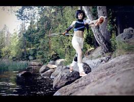 Yuffie Kisaragi: Easy step by Narga-Lifestream