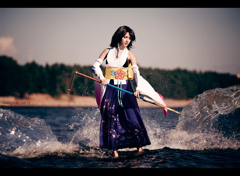 Final Fantasy X - Yuna - Sacred Rite by Narga-Lifestream